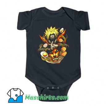 Power Of Ramen Funny Baby Onesie