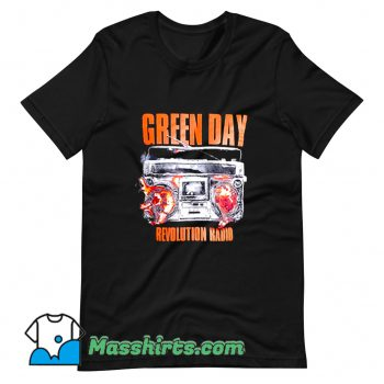 Revolution Radio Green Day Rock Band T Shirt Design
