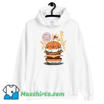 Shiba Burgers Cool Hoodie Streetwear