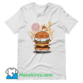Shiba Burgers T Shirt Design