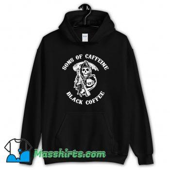 Sons Of Caffeine Black Coffee Hoodie Streetwear