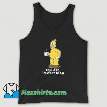 The Last Perfect Man Simpsons Tank Top