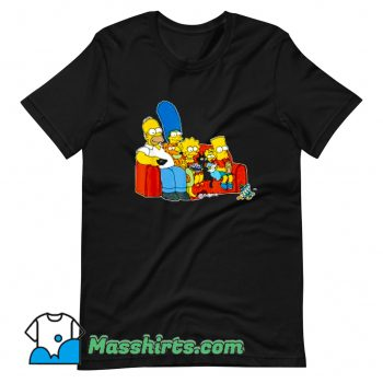 The Simpsons Homer Marge Maggie T Shirt Design