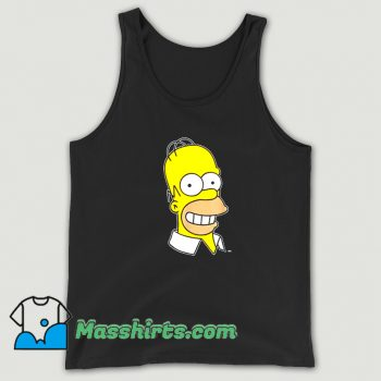 The Simpsons Homer Simpson Face Tank Top On Sale