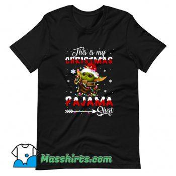 This Is My Christmas Pajama T Shirt Design