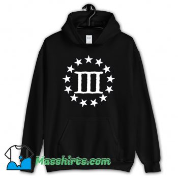 Three Percenter God Country Family Classic Hoodie Streetwear