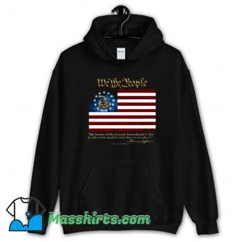 2nd Amendment We The People Thomas Jefferson Hoodie Streetwear