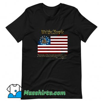 2nd Amendment We The People Thomas Jefferson T Shirt Design