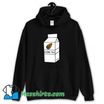 Almond Milk Cartoon Hoodie Streetwear On Sale