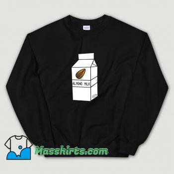Almond Milk Cartoon Sweatshirt
