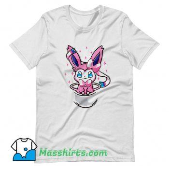 Anime Pouch Sylveon T Shirt Design On Sale