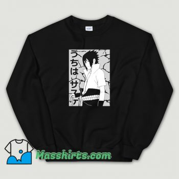 Anime Sasuke Uchiha Sweatshirt On Sale