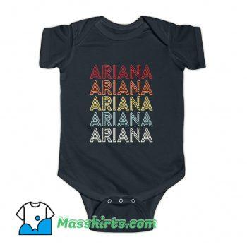 Ariana Grande Retro 90s Baby Onesie On Sale
