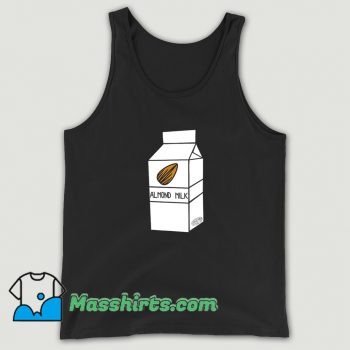 Awesome Almond Milk Cartoon Tank Top