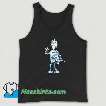 Awesome Bender Rick Futurama Tank Top