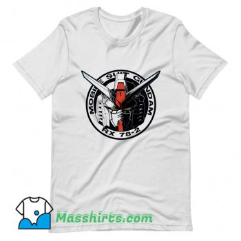 Awesome Gundam Emblem T Shirt Design