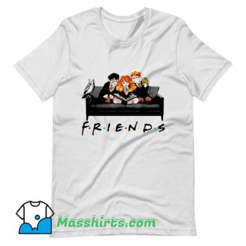 Awesome Halloween Friends Harry Potter Sofa T Shirt Design
