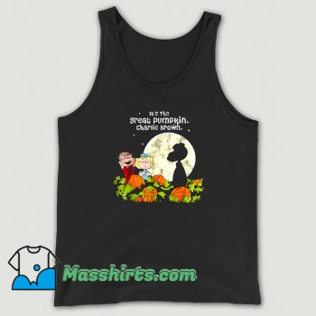 Awesome Its The Great Pumpkin Charlie Brown Tank Top