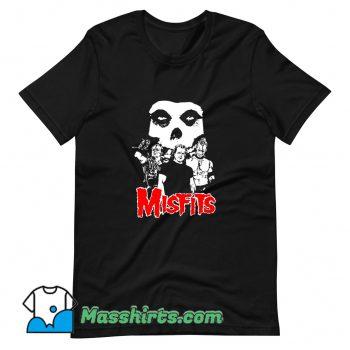 Awesome Misfits 1980 Tour Music Rock T Shirt Design