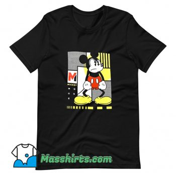 Awesome Movie Mickey Mouse Mad Angry Face T Shirt Design