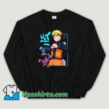Awesome Naruto Shippuden Kanji Frame Sweatshirt