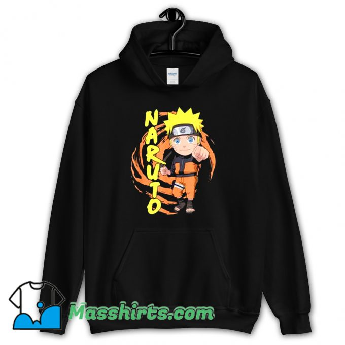 Awesome Naturo Chibi Fist So Cute Hoodie Streetwear