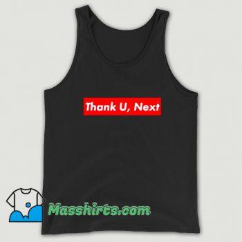 Awesome Thank U Next Red Box Logo Tank Top