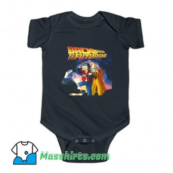 Back to The Future Futurama Baby Onesie
