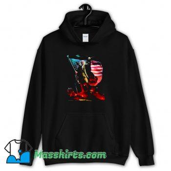 Badass George Washington Funny Hoodie Streetwear