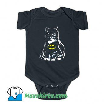 Bat Cat Batman Parody Baby Onesie