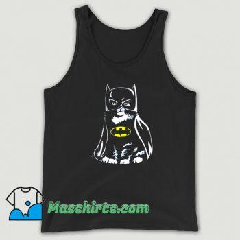 Bat Cat Batman Parody Funny Tank Top