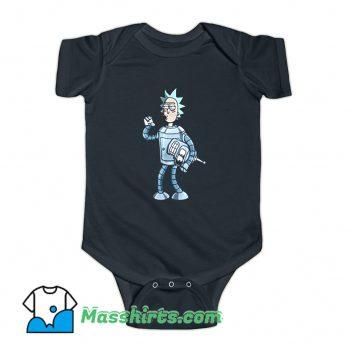 Bender Rick Futurama Baby Onesie