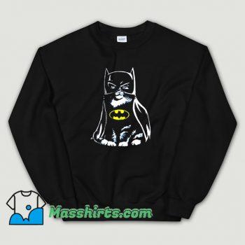 Best Bat Cat Batman Parody Sweatshirt