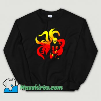 Best Comic Naruto and 9 Tails Sweatshirt