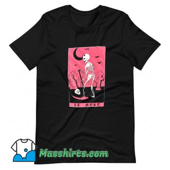 Best La Mort Death Skeleton T Shirt Design