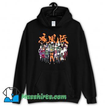 Best Naruto Cast Group Comic Hoodie Streetwear