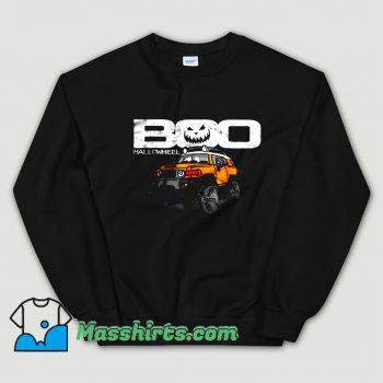 Boo Hallowheel FJ Cruiser Halloween Sweatshirt