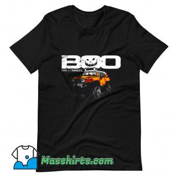 Boo Hallowheel FJ Cruiser Halloween T Shirt Design