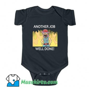 Cheap Another Job Well Done Baby Onesie