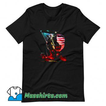 Cheap Badass George Washington T Shirt Design