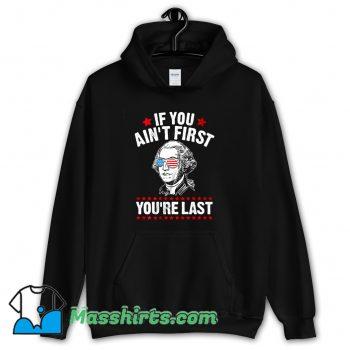 Cheap George Washington Patriotic American Hoodie Streetwear