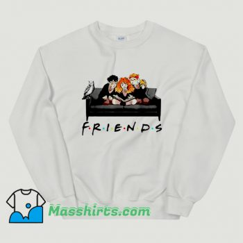 Cheap Halloween Friends Harry Potter Sofa Sweatshirt