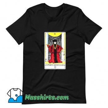 Cheap Star Trek TNG Q Tarot Card T Shirt Design