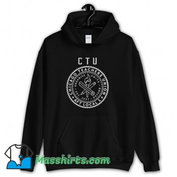 Cheap The Rapper CTU Chicago Chance Hoodie Streetwear