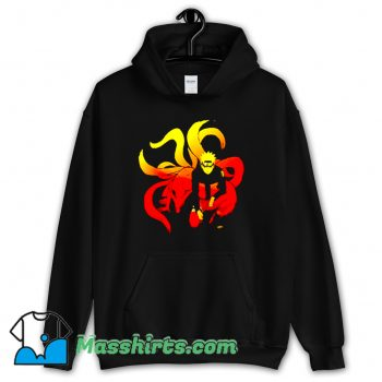 Classic Comic Naruto and 9 Tails Hoodie Streetwear