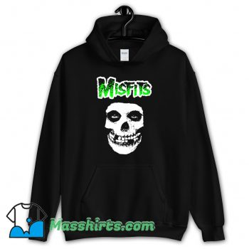 Classic Misfits Band Logo Rock Music Hoodie Streetwear