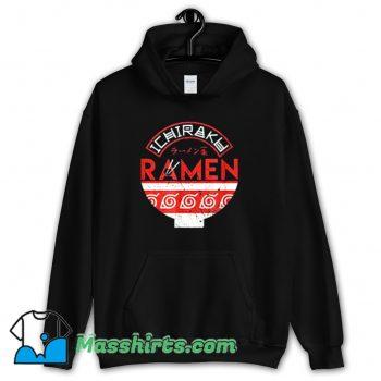 Classic Naruto Ichiraku Ramen Bowl Hoodie Streetwear