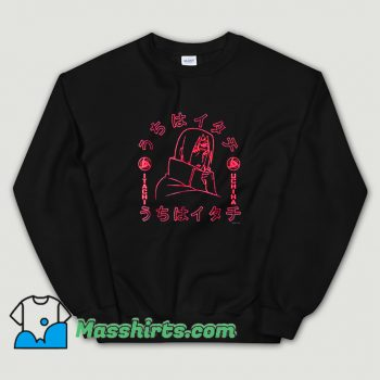 Classic Naruto Itachi Of The Sharingan Sweatshirt