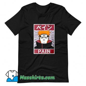 Classic Pain Naruto Shippuden T Shirt Design