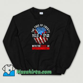 Classic Tree Of Liberty Thomas Jefferson Sweatshirt